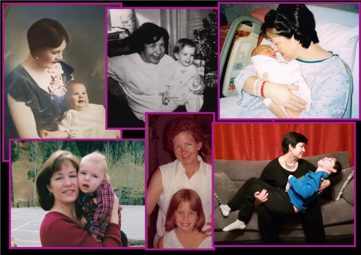 mothers day collage 2018
